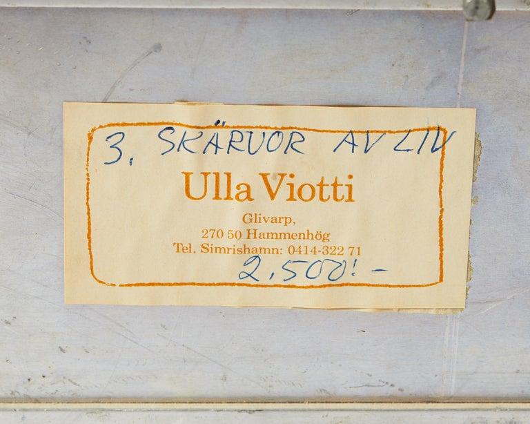 Mid-20th Century Relief by Ulla Viotti, Sweden, 1960's For Sale