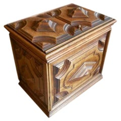 Relief Carved French 18th Century Chest from Academy Award Winner Elmo Williams