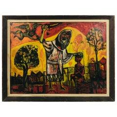 """Religious Beheading"" by Listed Artist Jonah Kinigstein, '1923'"