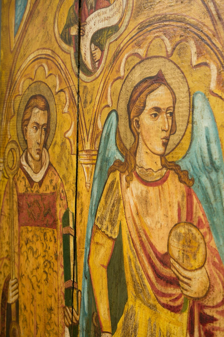 Other Religious Icon Painted on Board For Sale