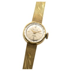 Relude Yellow Gold Wristwatch with Bracelet