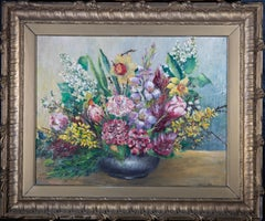 Rema Stephens - 20th Century Oil, Floral Still Life