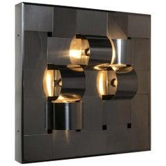 Remarkable Light Panel Model 468 by Salvi for Reggiani