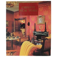 Remarkable Private NY Residences Vintage Decorative Hardcover Book