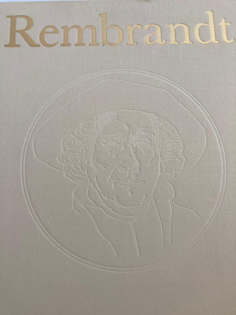 Rembrandt Paintings Hardcover Book by Gerson Horst For Sale 5
