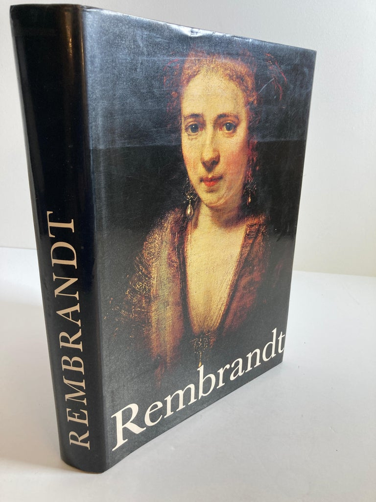 Belgian Rembrandt Paintings Hardcover Book by Gerson Horst For Sale