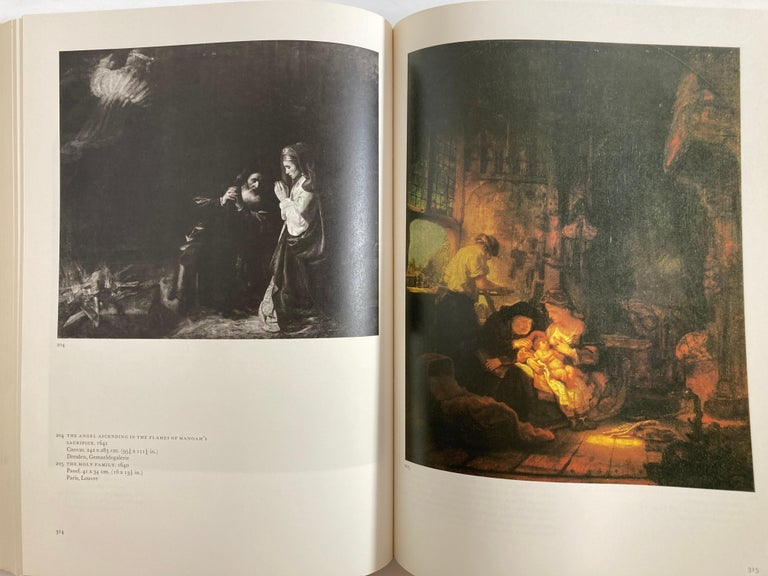 Rembrandt Paintings Hardcover Book by Gerson Horst For Sale 1