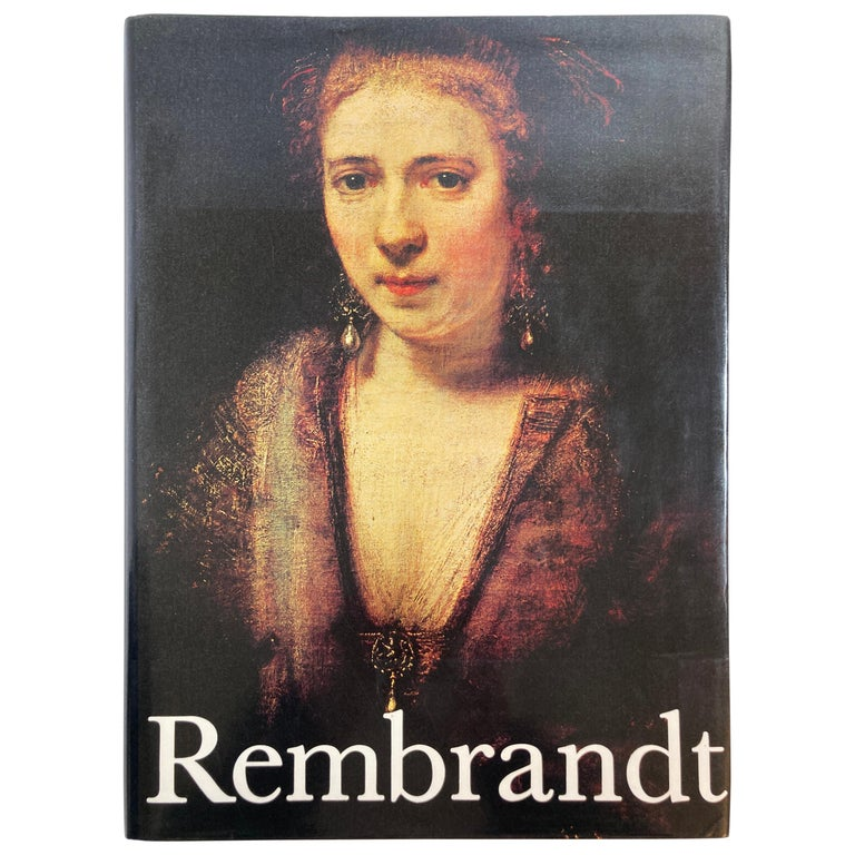 Rembrandt Paintings Hardcover Book by Gerson Horst For Sale