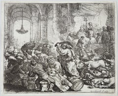 Christ Driving the Moneychangers from the Tempte