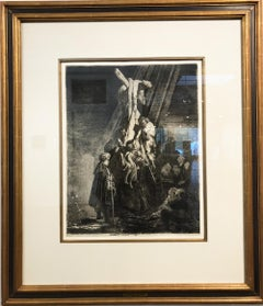 Descent from the Cross, Etching