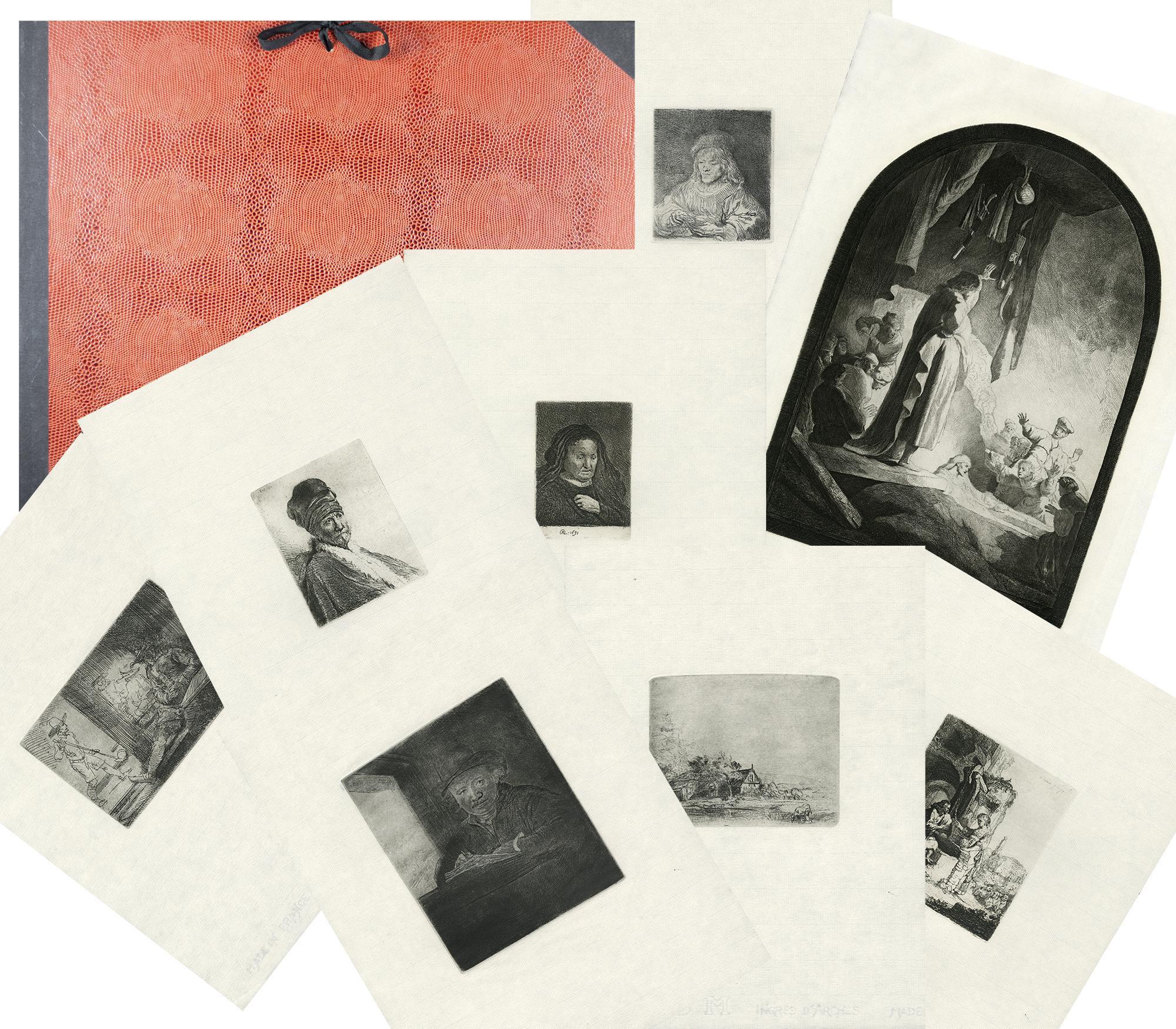 Rembrandt Millennium Edition, 1998 posthumous impressions set of 8