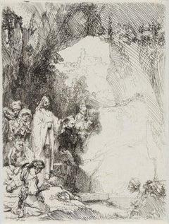 The Raising of Lazarus, Small Plate