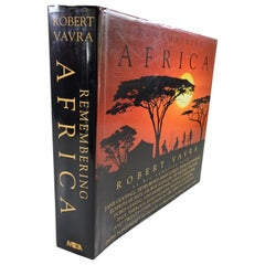 Remembering Africa by Robert Vavra Hardcover Book