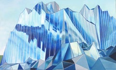 Inside, Outside, Glaciation, Painting, Acrylic on Canvas