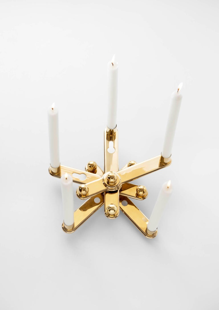 Modern Remix Candleholders by Ramón Úbeda For Sale