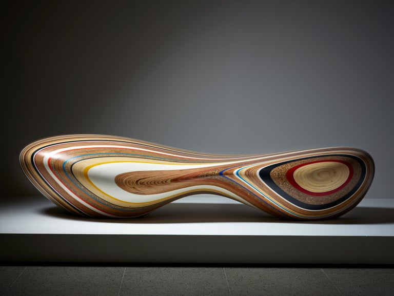 Remix, Chaise Longue by Brodie Neill in Assorted Woods and Reclaimed Materials 2