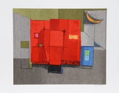 Color Game, Lithograph by Remo Farruggio