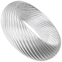 Remolí Nº4 Sterling Silver Ring or Wedding Band by House New York, Limited Edi.