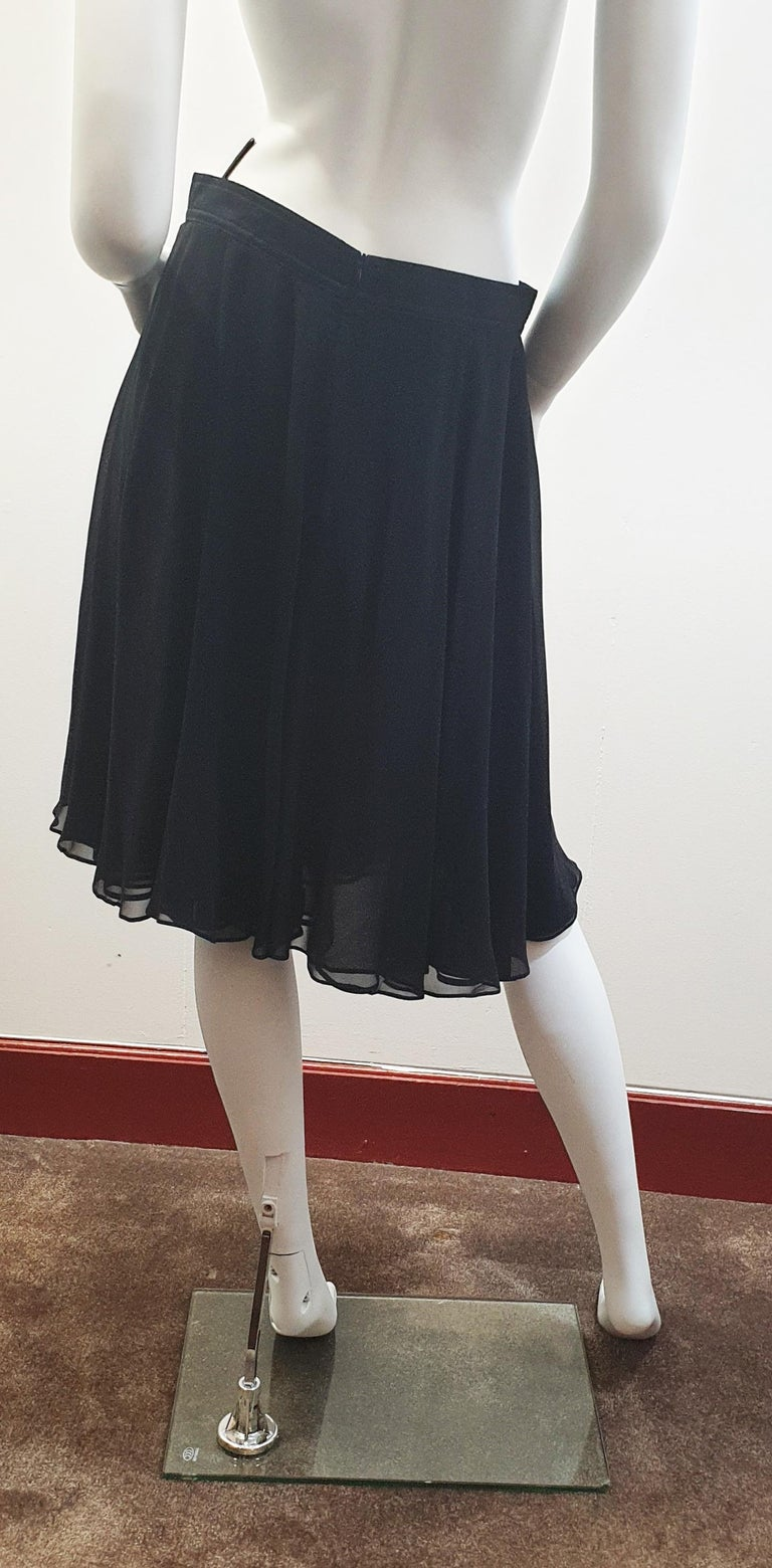 Rena Lange Tulle Black   night formal skirt  In Good Condition For Sale In  Bilbao, ES