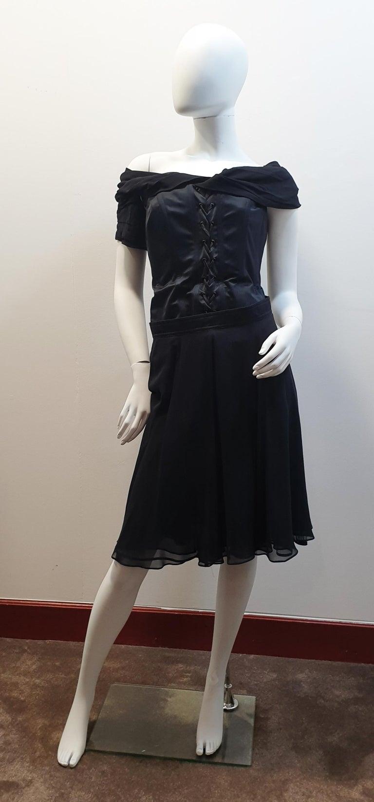 Rena Lange Tulle Black   night formal skirt  For Sale 1
