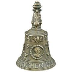 Renaissance Bronze Bell, 1555, Dated
