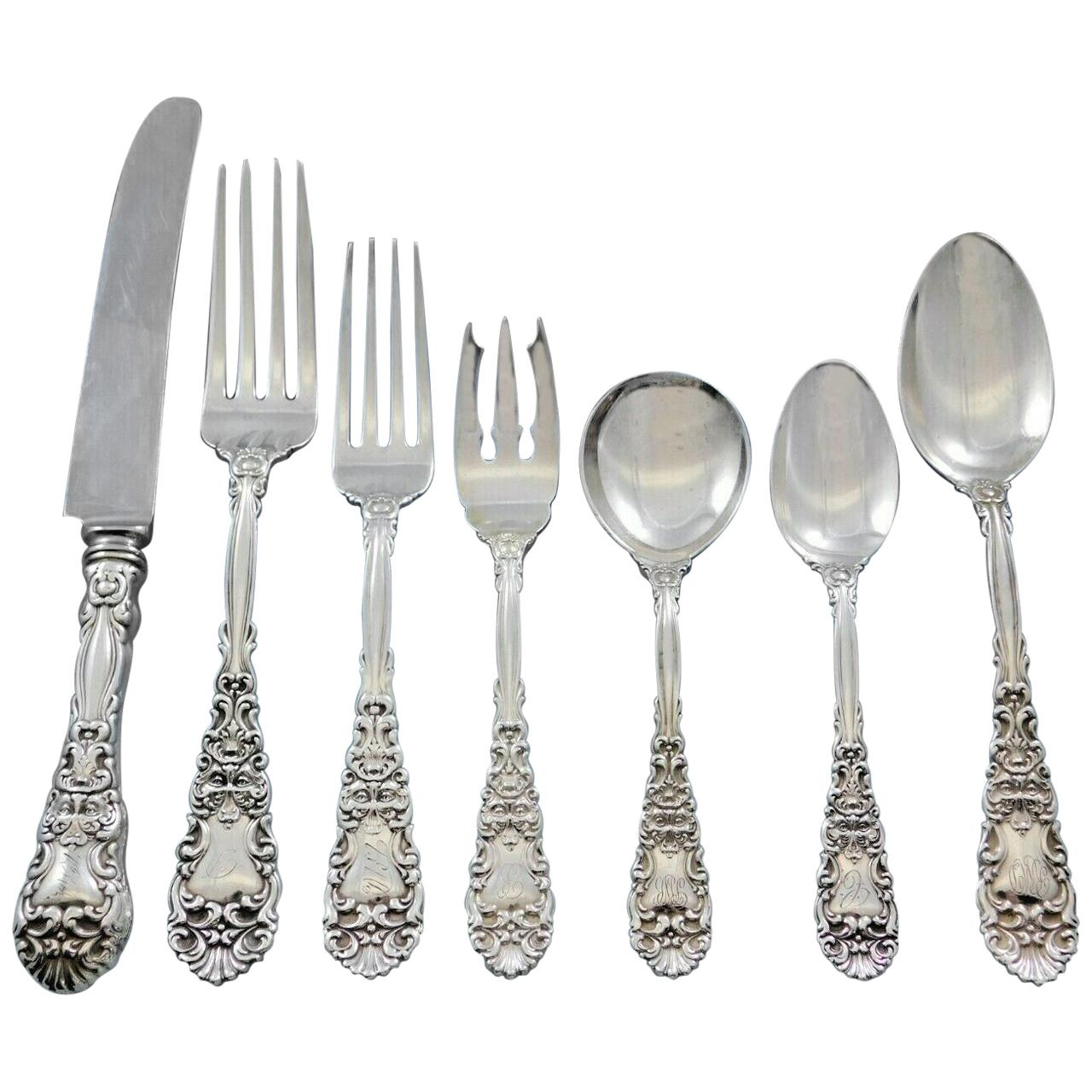 Renaissance by Dominick /& Haff Sterling Silver Place Soup Spoon 7