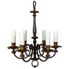 Renaissance Revival 6-Light Candlestick Chandelier