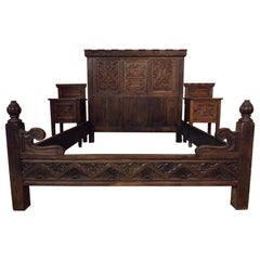 Renaissance Revival Bedroom Set