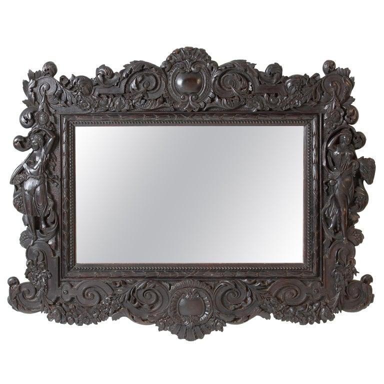 Renaissance Revival Mirror For Sale