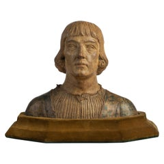 Renaissance Revival Terracotta Bust of a Man