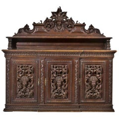 Renaissance Sideboard Style, End of the 19th Century