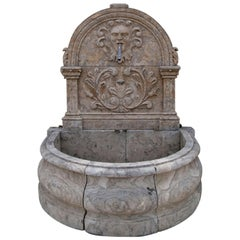 Renaissance-Style Wall Fountain