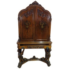 Renaissance Style Winged Griffin Cabinet