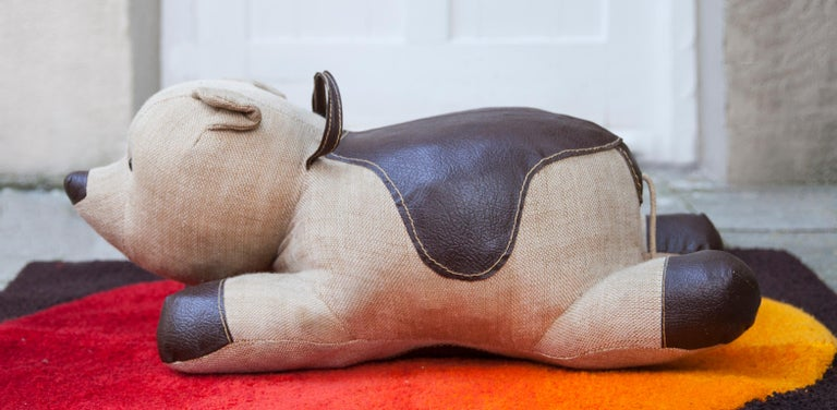 German Renate Müller Bear Therapeutic Toy, 1968 For Sale
