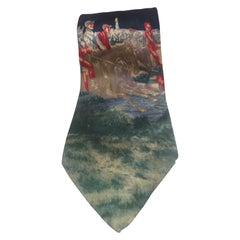 Renato Balestra multicoloured vintage tie