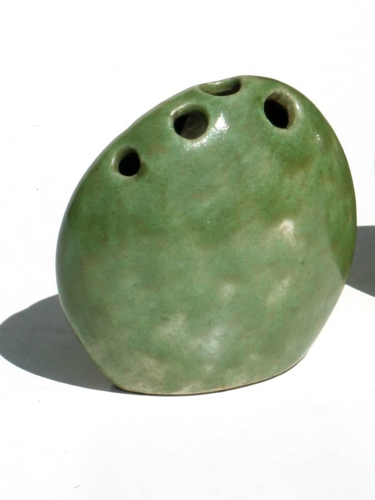 Renato Bassoli Il Sestante 1950s  Glazed earthenware Measure: H 7 cm.