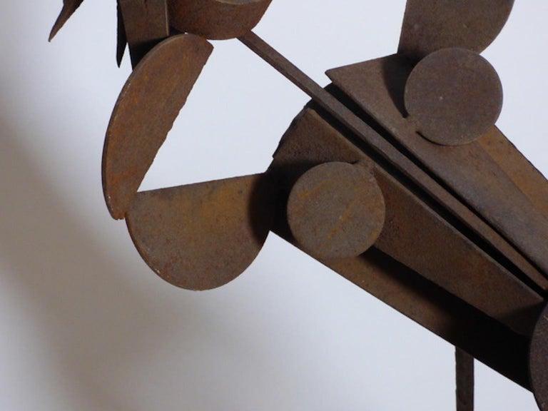 Renato Bassoli Midcentury Italian Sculpture In Excellent Condition For Sale In Milan, Italy