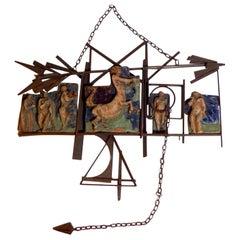 Renato Bassoli Midcentury Italian Sculpture