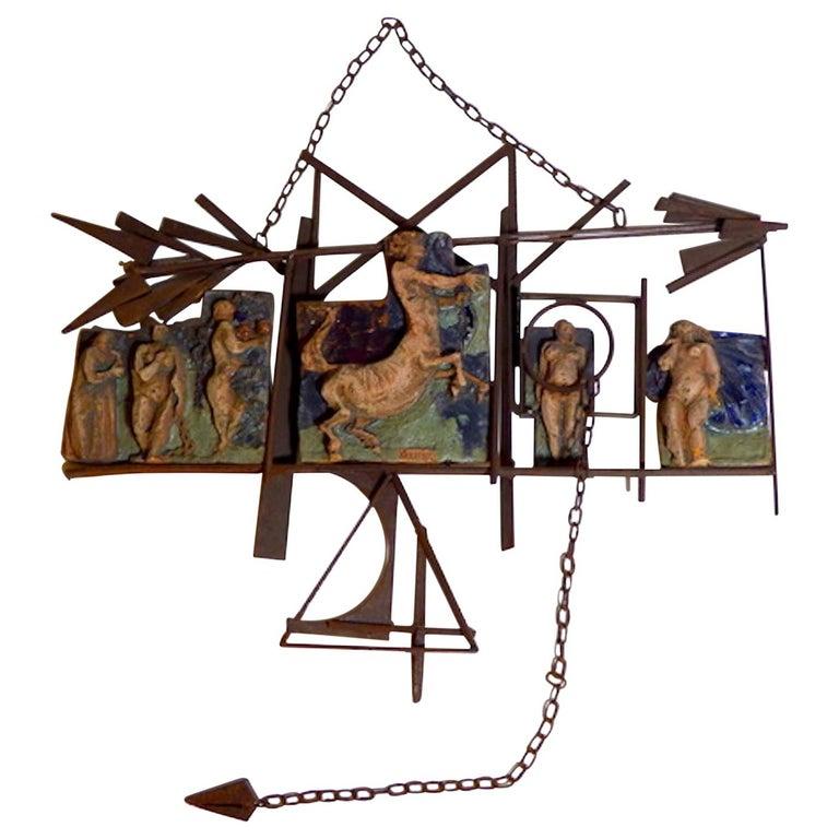 Renato Bassoli Midcentury Italian Sculpture For Sale