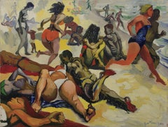 The Beach - 1955 - Renato Guttuso - Oil on Canvas - Contemporary Art
