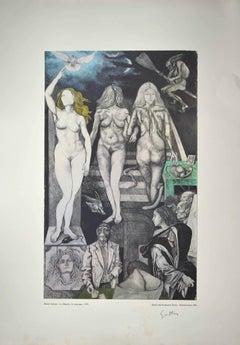Allegories: Lies - Vintage Offset by Renato Guttuso - 1979