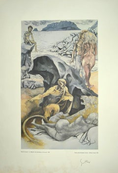 Allegories: St. Jerome - Vintage Offset by Renato Guttuso - 1979