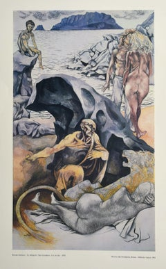 Allegories: St. Jerome  - Vintage Offset Poster - 1978