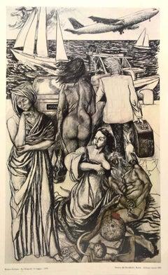 Renato Guttuso - Vintage Poster - 1981