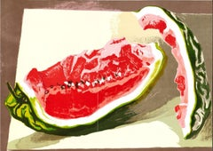 Watermelon - Lithograph after Renato Guttuso - 1982