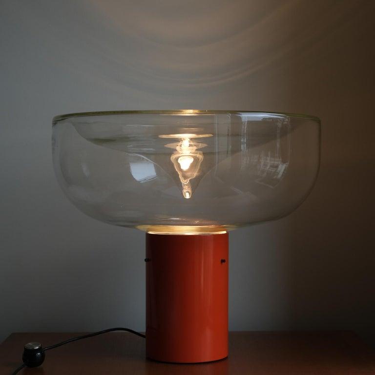 Modern Renato Toso, a Table Lamp, Aella, Leucos, 1968 For Sale