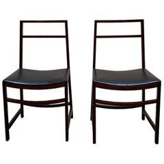Renato Venturi for Mim Pair of Dining Chairs, 1960s