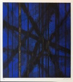 Nuit d'été  IV (Blue variant), by Renaud Allirand
