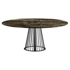 Rendez-Vous Round Dining Table Marble Top