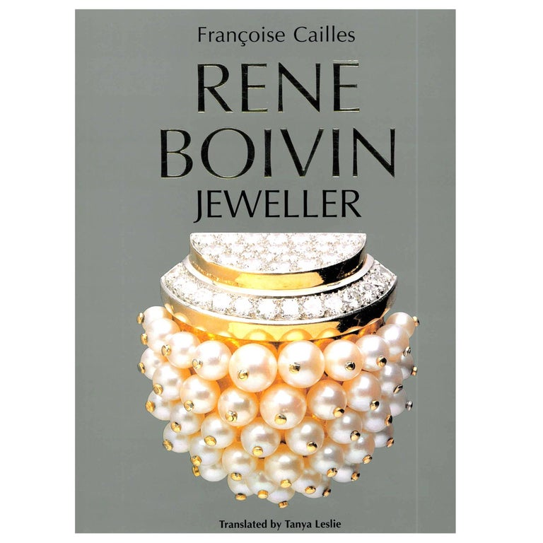 'Rene Boivin Jeweller' Book For Sale